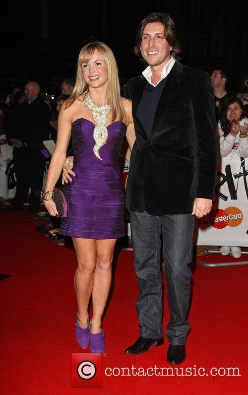 Amanda Holden and Chris Hughes The 2009 BRIT...