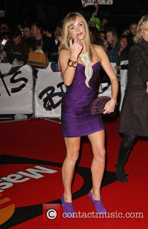 Amanda Holden The 2009 BRIT Awards - Red...