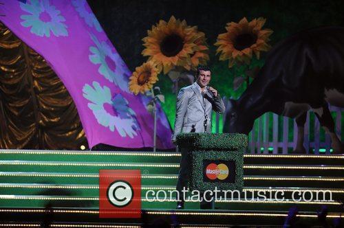 Joe Calzaghe The 2009 BRIT Awards - Show...