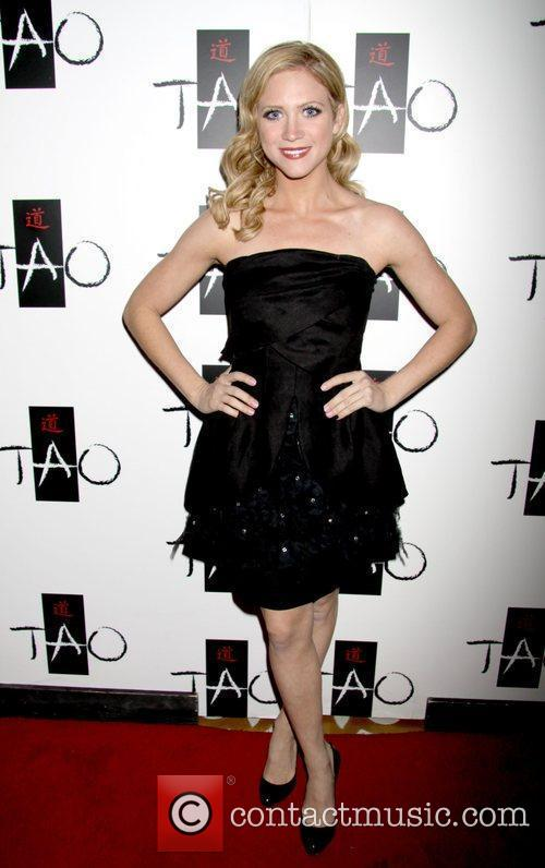 Brittany Snow celebrates her birthday at TAO in...