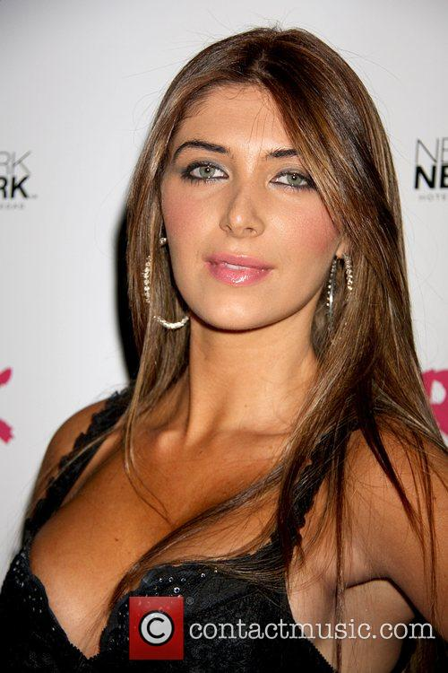 Brittny Gastineau Birthday Celebration at Rok Vegas at...