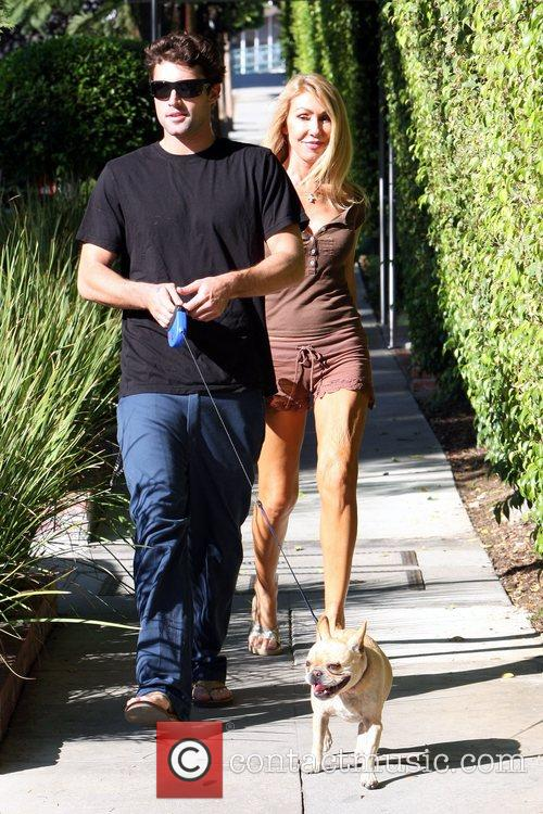 Brody Jenner and Linda Thompson Brody Jenner walking...