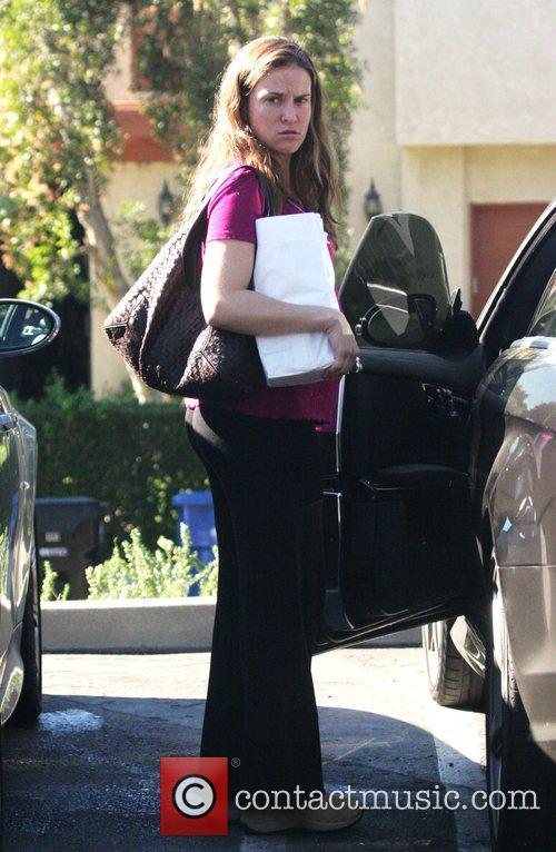 Charlie Sheen's wife, Brooke Sheen  looks heavily...