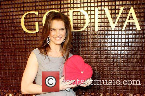 Brooke Shields unveils The Godiva Chocolate Decadence Suite...