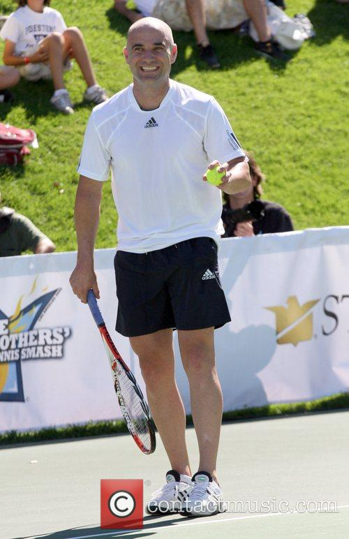 Andre Agassi All-Star Tennis Smash charity event to...
