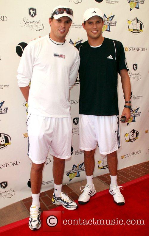 Bob and Mike Bryan All-Star Tennis Smash charity...