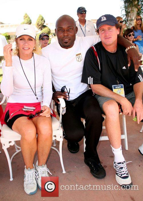 Donna Mills, Jimmy Jean-Louis and Tennis Channel founder...