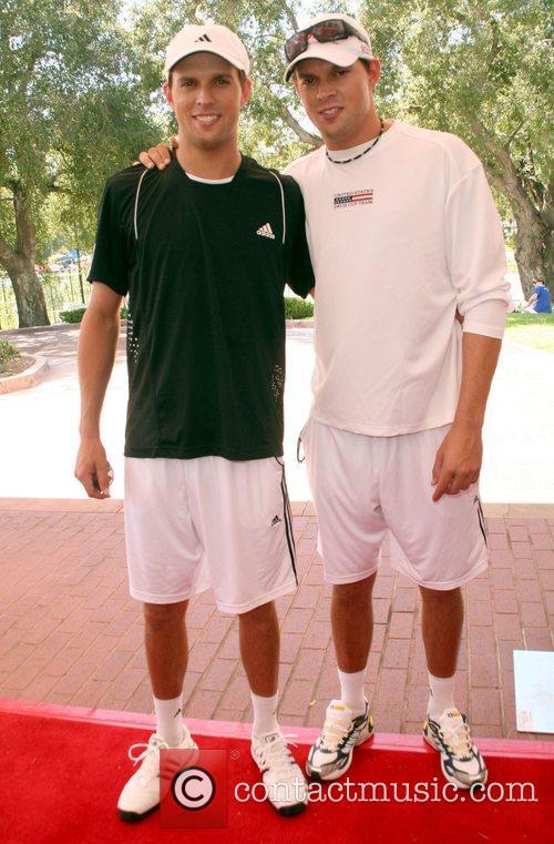 Mike and Bob Bryan All-Star Tennis Smash charity...