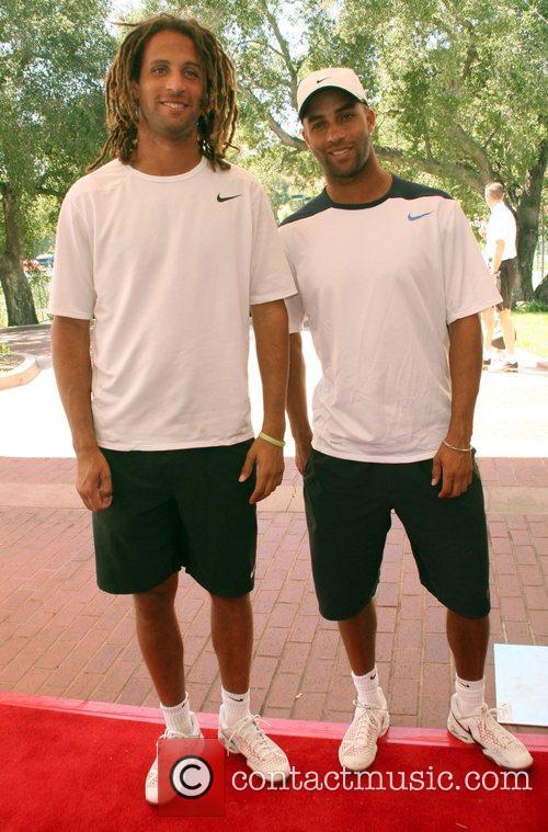 Thomas and James Blake All-Star Tennis Smash charity...