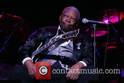 B.B. King performs at DAR Constitution Hall Washington...