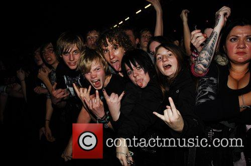 Bullet For My Valentine perform at the Alexandra...