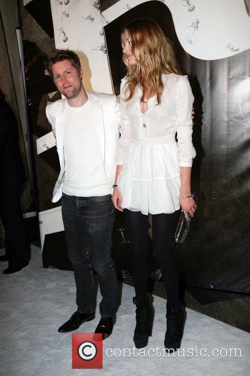 Christopher Bailey and Guest Burberry Lights Up NYC...