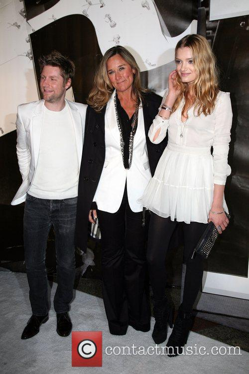 Christopher Bailey, Angela Ahrendts and Guest Burberry Lights...