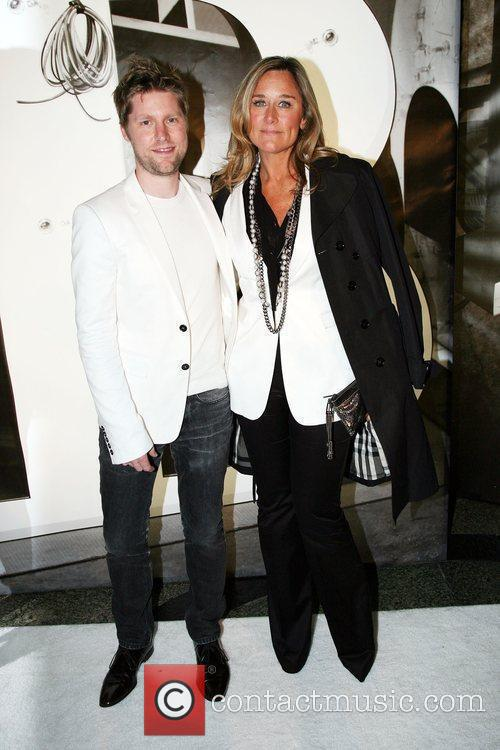 Christopher Bailey and Angela Ahrendts Burberry Lights Up...
