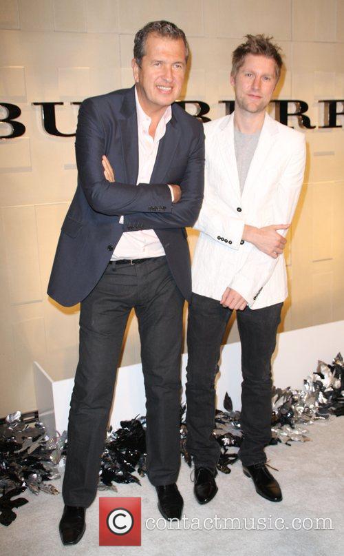 Mario Testino and Christopher Bailey 9