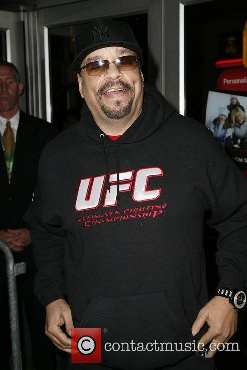 Ice-T The premiere of 'Burning Down The House'...