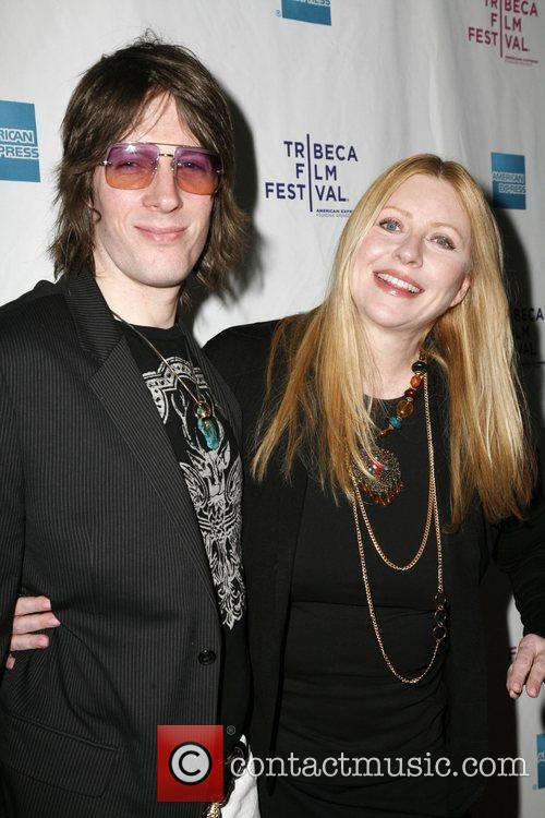 Bebe Buell and Guest The premiere of 'Burning...