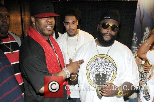 Busta Rhymes and Rick Ross performing at 'Power...