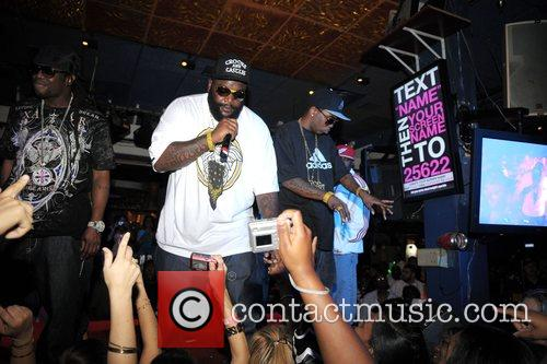 Rick Ross and Brisco  performing at 'Power...