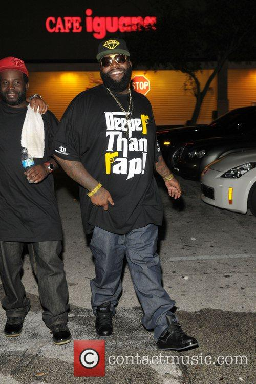 Rick Ross leaving 'Power 96 Presents: The World's...