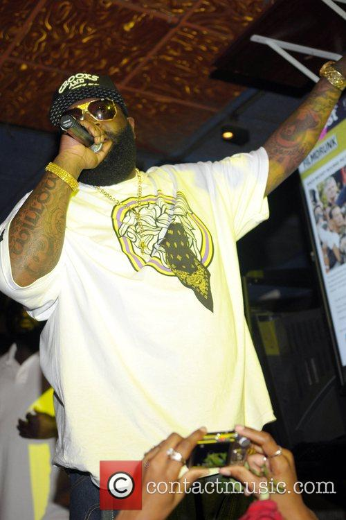 Rick Ross performing at 'Power 96 Presents: The...