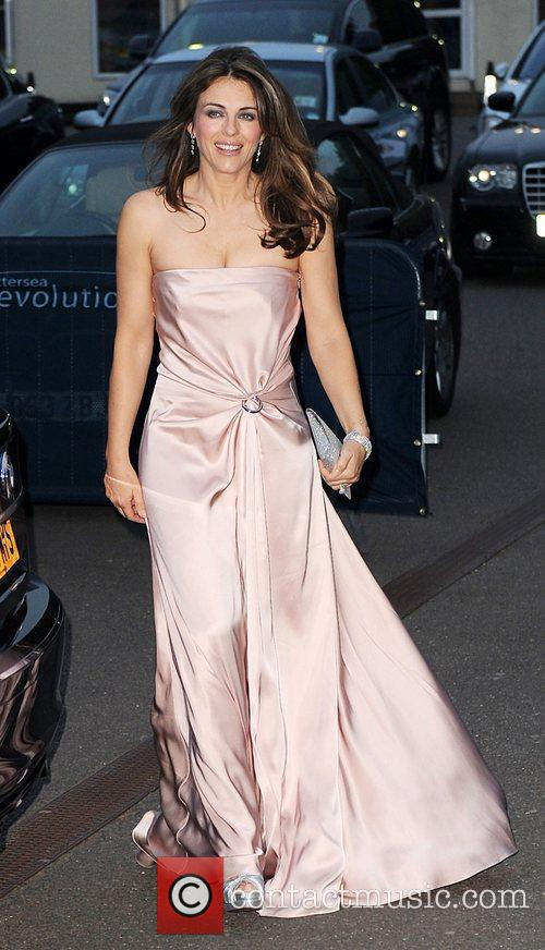 Elizabeth Hurley The Caudwell Children Butterfly Ball at...