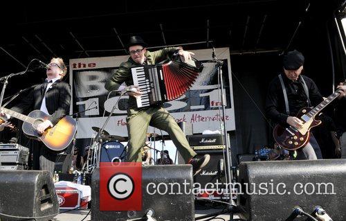 Flogging Molly  'Buzz Bake Sale' concert at...