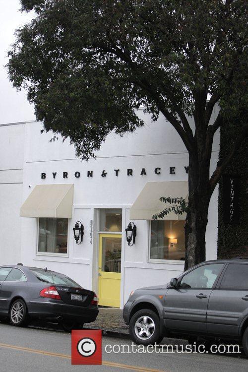 Byron & Tracey salon  Los Angeles, California