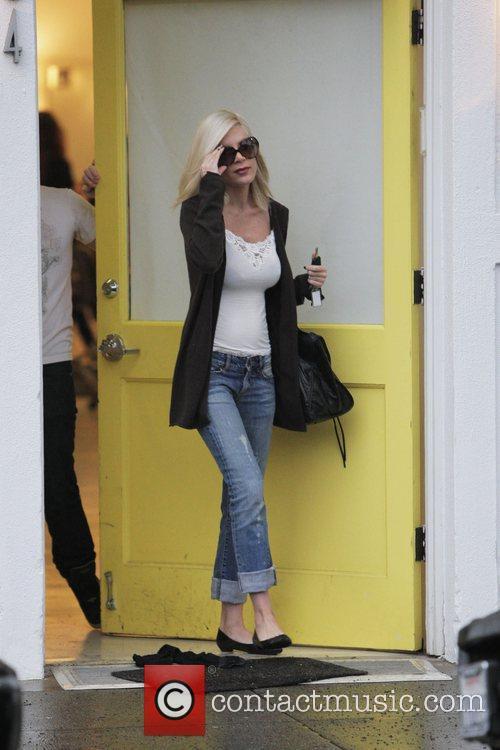 Leaving the Byron & Tracey salon