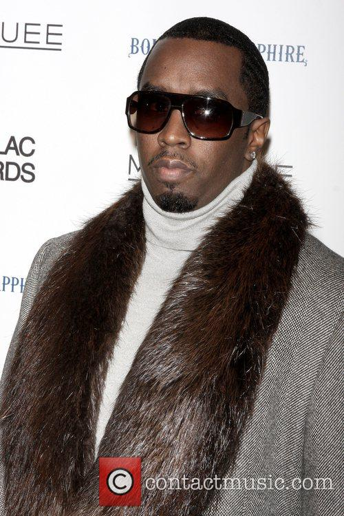 Sean 'Diddy' Combs New York Premiere of 'Cadillac...
