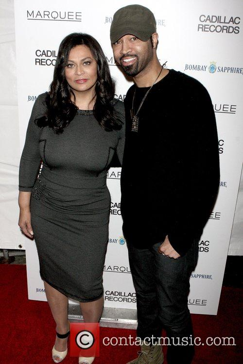 Tina Knowles and Ty Hunter New York Premiere...