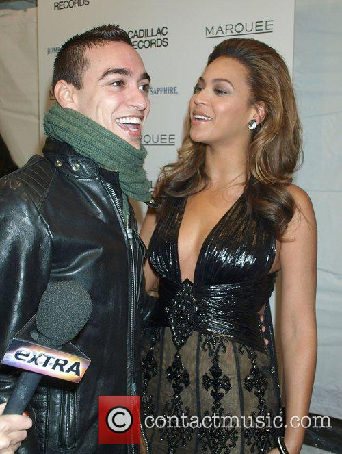 Shane Mercado and Beyonce Knowles New York Premiere...
