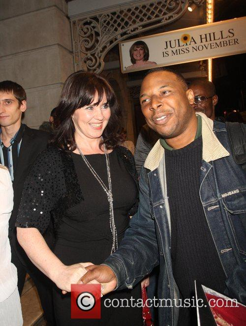 Coleen Nolan With A Fan 6