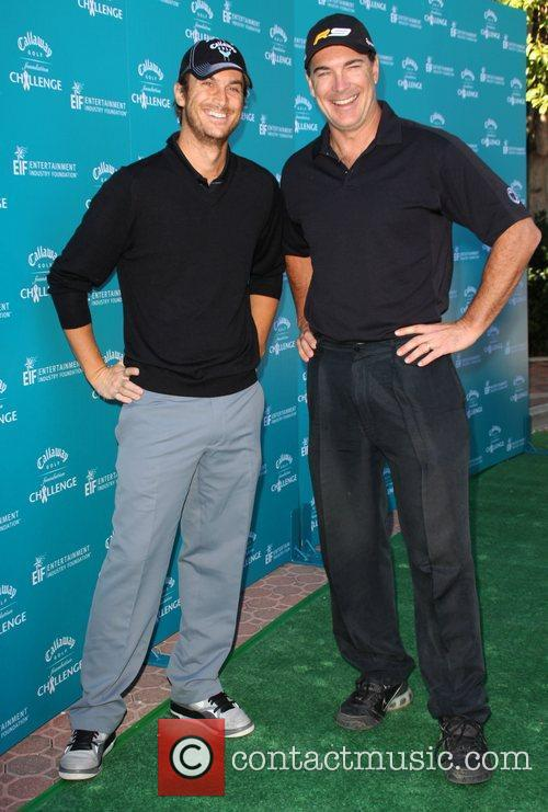 Oliver Hudson and Patrick Warburton Callaway Golf Foundation...