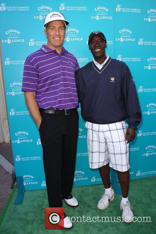 Stuart Appleby and Don Cheadle Callaway Golf Foundation...