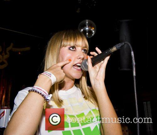 Goldielocks performing live at the Black Cap as...