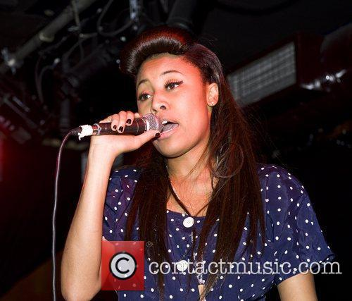 VV Brown performing live at Barfly as part...