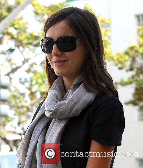 Camille Belle takes a stroll through Beverly Hills...