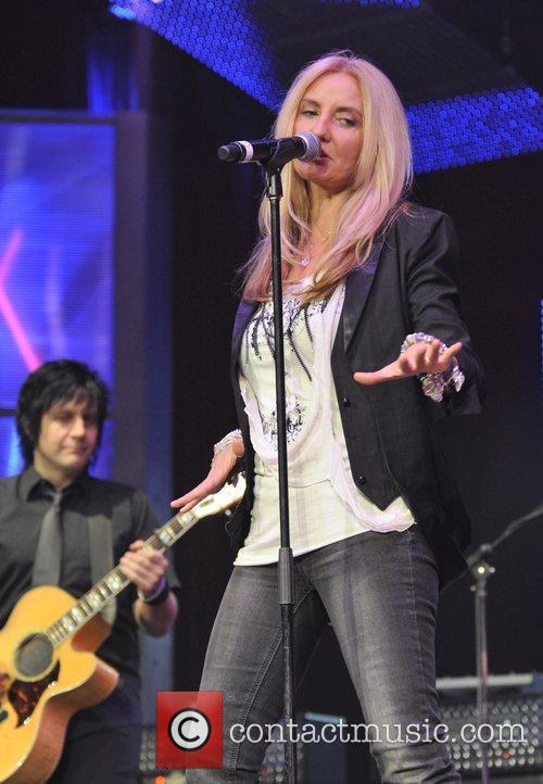 Sass Jordan  performing live on stage at...