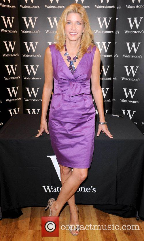 Candace Bushnell signs copies of her fifth novel...