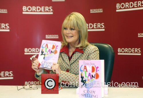 At the book signing for her new title...