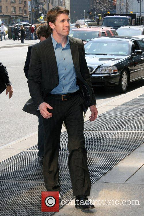 Nascar Sprint Cup Driver Carl Edwards Arriving At His Manhattan Hotel and Manhattan Hotel 4