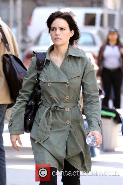 'Watchmen' co-star Carla Gugino out shopping in SoHo,...