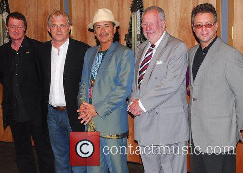 Carlos Santana and Mayor Oscar Goodman 7