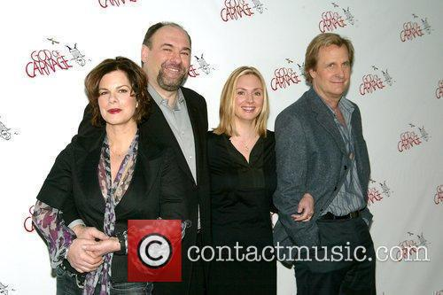 Photocall of the cast of upcoming Broadway play...