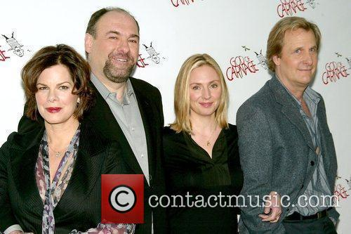 Marcia Gay Harden, James Gandolfini and Marcia Gay 2