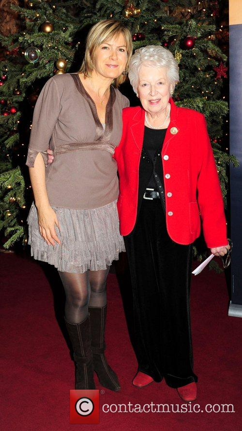Penny Smith and June Whitfield  attend the...
