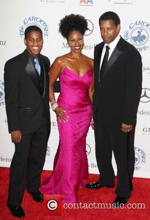 Denzel Washington and Barbara Davis 3