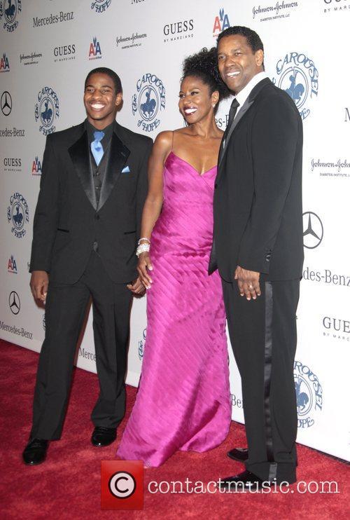Denzel Washington and Pauletta Washington 6