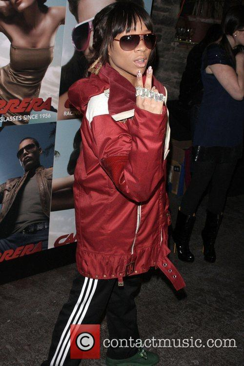 Lil Mama Launch of Carrera Vintage Sunglasses at...